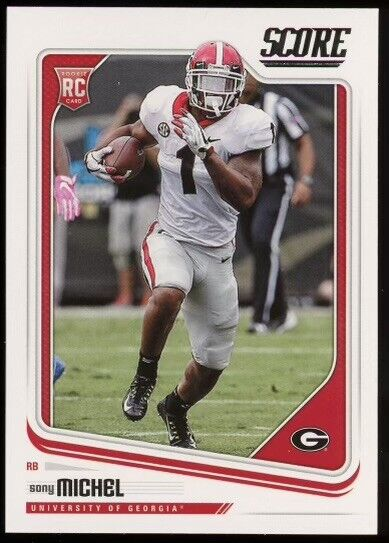 Sony Michel Football Card Database - Newest Products will be shown ...