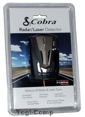 Cobra XRS-9370 XRS9370 14 Band Laser Radar Detector w/ 360 degree detection NEW