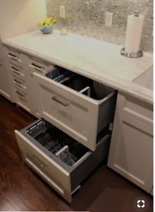 Double drawer - panel ready - Fisher-paykal Dishwasher