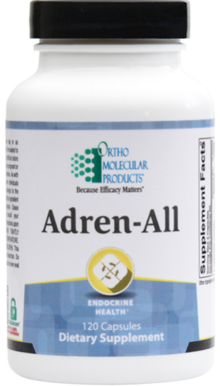 Ortho Molecular products - Adren-All - 120 Capsules