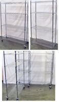 Chrome Wire Shelf, Metro Rack, NEW