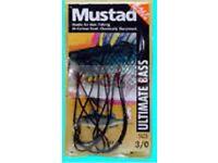 Mustad Ultimate bass hooks