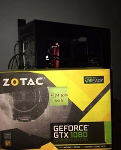 Gtx 1080 Founders Zotac NEW in box + receipt
