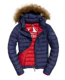 Superdry Womens Fuji Slim Double Zip Jacket