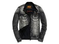 Superdry Denim Biker Jacket
