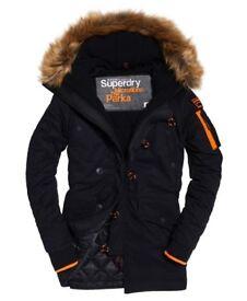 Superdry Mens Parka Jacket Coat