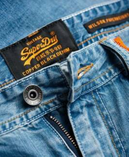 Superdry mens Wilson Paperweight jeans (New with Tag)