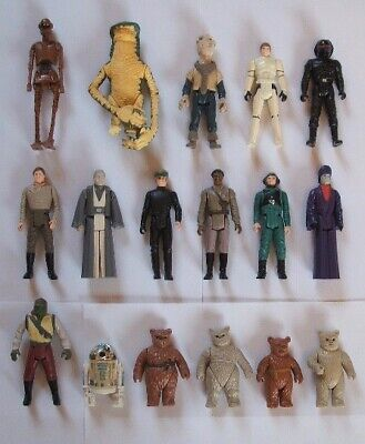 Vintage Star Wars Incomplete Last 17 POTF Action Figures - Choose Your Own