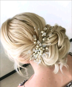 Bridal makeup artist and hairstylist$65up
