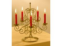 Candle table decoration. PERFECT FOR CHRISTMAS