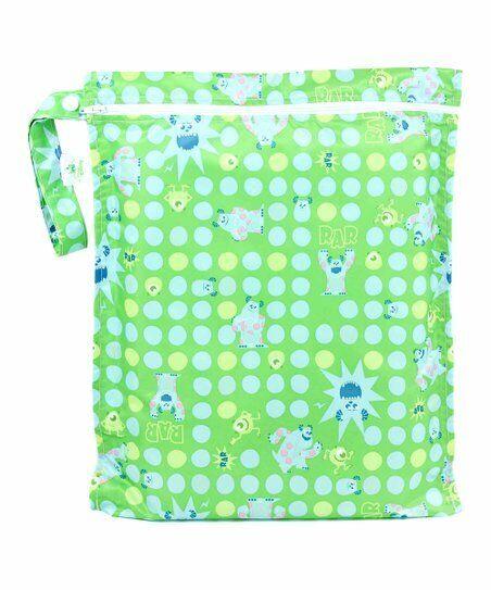 Disney Bumkins Waterproof Wet Dry Bag - Monsters Inc. Nappy
