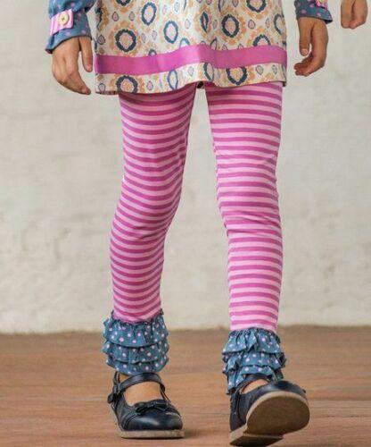 MATILDA JANE Between The Pages Leggings Girls Sz  8 10 Girls Pink Stripe