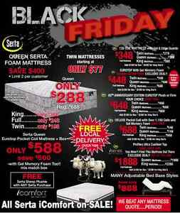 Black friday continues in Cobourg,Mattress and bedroom furnitur