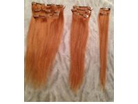 New human hair extensions