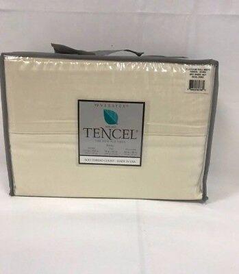 New Veratex Micro Tencel 600 Thread Count 6 Piece Sheet Set  Dual King