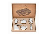 Alessi Progiotti 6-Piece Cookie Cutter Set