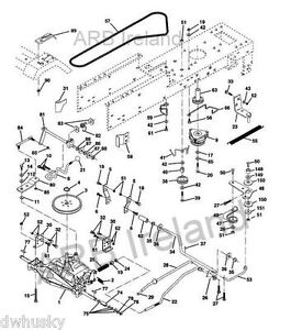 transmission drive belt fits husqvarna yt150 amp rally main drive belt diagram husqvarna toro drive belt diagram