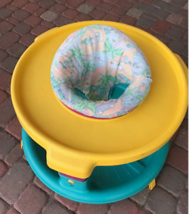BASIC EXERSAUCER/BOUNCER IN GOOD SHAPE WITH LOTS OF LIFE LEFT!!
