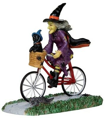 LEMAX SPOOKY TOWN BE-WITCHING BIKE RIDE -  ITEM # 32109 NIP