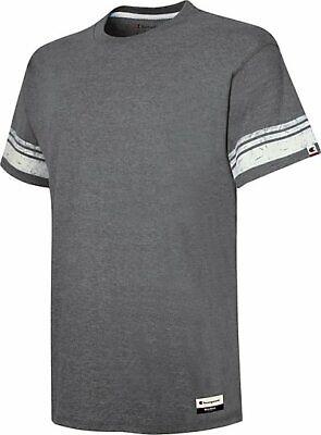 Champion Men's T-Shirt Originals Triblend Varsity Tee Short