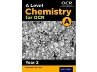 A Level Chemistry OCR (science)