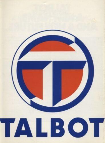 1980 Talbot Sales Brochure Book Horizon Sunbeam Avenger