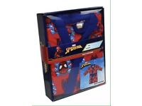 Spider-Man dressing gown gift set