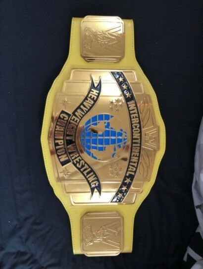 WWE 'Intercontinental Heavyweight Wrestling Champion' Replica Belt