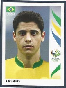PANINI FIFA WORLD CUP-GERMANY 2006- #382-BRAZIL-CICINHO