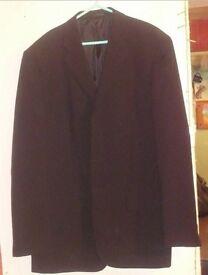 Mens Black George Suit Jacket