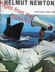HELMUT NEWTON PAGES FROM THE GLOSSIES 1956-1998 TASCHEN SAVE $55