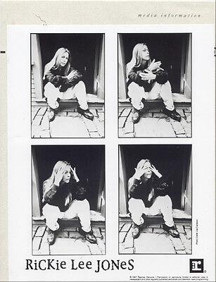 RICKIE LEE JONES – Ghostyhead 1987 PRESS KIT +PHOTO