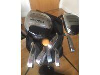Golf clubs half set
