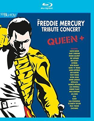THE FREDDIE MERCURY TRIBUTE CONCERT - QUEEN+ [BLURAY] NEW & SEALED