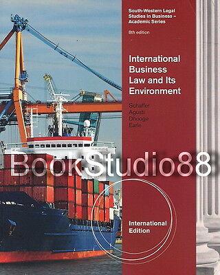 International Business Law and Its Environment 8E Richard Schaffer 8th