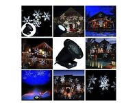 Christmas Lights Sparkling Snowfall LED Projector - Outdoor or Indoor - Christmas Decoration