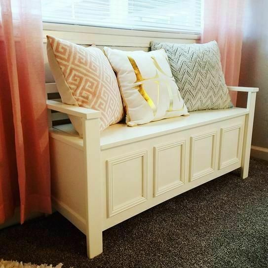 Entryway Storage Bench Drop Top Hidden Organizer Shoe Boots