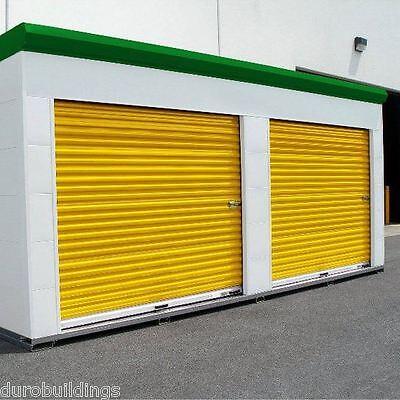 Durosteel Janus 10x10 Storage 750 Series Wind Rated Roll-up Door Hdwe Direct