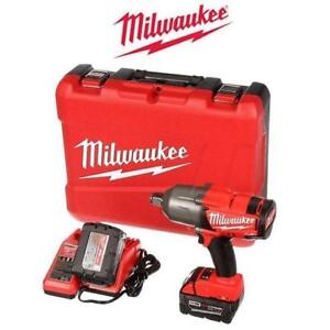 "OB MILWAUKEE 3/4"" IMPACT WRENCH KIT 2764-22 219648198 OPEN BOX 18V LITHIUM-ION CORDLESS POWER TOOL"
