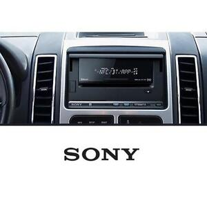 NEW SONY SMARTPHONE CRADLE RECEIVER IN DASH W/ BLUETOOTH CD CAR STEREO IN-CAR RECEIVERS  PLAYERS 106620087