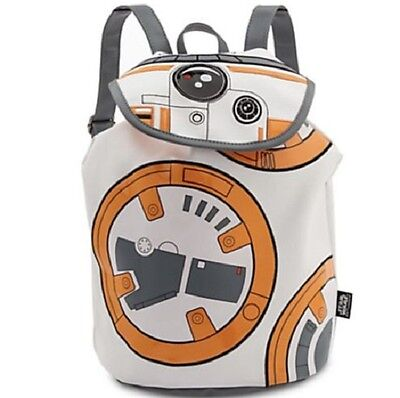 NWT Disney Store Star Wars BB-8 BB8 The Force Awakens Fashion Backpack