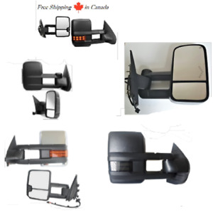 TOWING MIRRORS TRAILER MIRRORS FOR GMC SIERRA CHEVY SILVERADO