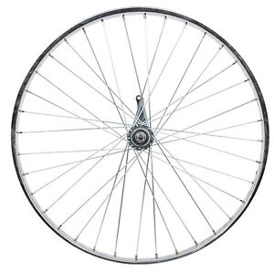 New 26 x 2.125 Coaster Brake Steel Chrome Bike Cruiser Rear Wheel