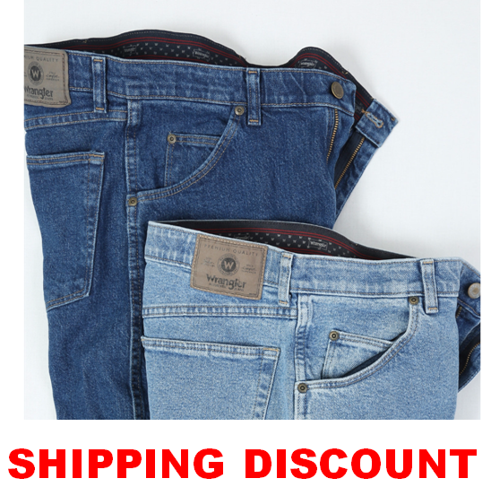 6aa7d7e4 Wrangler Comfort Solution Series Regular Fit Jean Comfort Flex Waistband  Mens | PolyBull.com