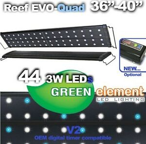 Green element led