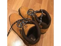Timberland Men's Euro Sprint Boots- Wheat-Size 8