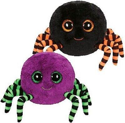 TY Plüsch Halloween Spinnen mit Glitzeraugen Crawly Auswahl 15cm
