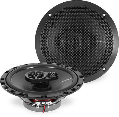 Rockford Fosgate R165x3 90W Rms 6 5  3 Way Prime Coaxial Car Stereo Speakers