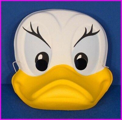 DAISY DUCK with BIG YELLOW BILL Walt Disney ADULT Costume MASK Vintage
