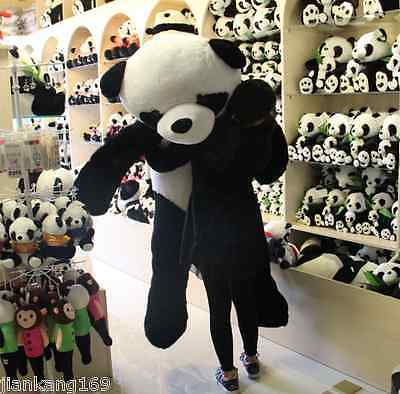 72 Giant Hung Big Panda Bear Stuffed Bolster Plush Dolls Toy
